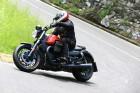 Moto Guzzi Audace Fahraufnahme