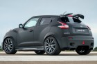 Nissan Juke-R 2.0 in schwarz matt