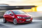 Opel Astra K Fahraufnahme