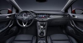 Opel Astra K Innenraum