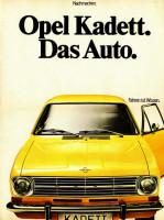 Opel Kadett B Werbung 1969