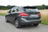 BMW 216d Active Tourer, Heckansicht