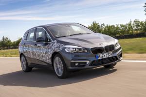 BMW 2er Plug in-Hybrid, Fahraufnahme