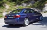 BMW 340i, Fahraufnahme, Rückansicht