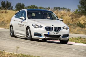 BMW 5er GT mit Wasserstoffantrieb