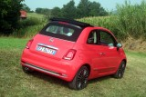 Fiat 500C Facelift 2015 in Rot