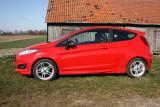 Ford Fiesta Sport, Seitenpartie
