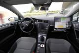 Innenraum des autonomen E-Golf