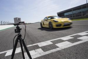 Porsche Cayman GT4, Zeitmessung