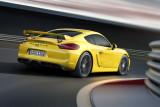 Porsche Cayman GT4 auf Rennstrecke