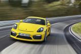 Porsche Cayman GT4 auf der Rennstrecke