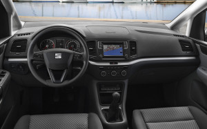 Seat Alhambra Facelift 2015, Innenraum