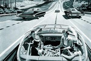 50er Jahre Traum Autonomes Fahren