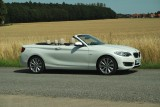 BMW 220i Cabrio Luxury Line, Verdeck unten