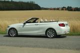 BMW 220i Cabrio Luxury Line, geöffnet