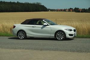 BMW 220i Cabrio Luxury Line, geschlossen