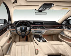 BMW 730d Baureihe G11, Armaturenbrett