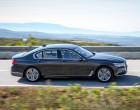 BMW 730d Baureihe G11, Seitenansicht