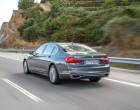 BMW 750Li xDrive, Heckansicht
