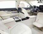 BMW 750Li xDrive, Platzangebot im Fond