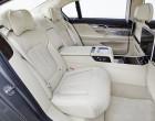 BMW 750Li xDrive, Sitze im Fond