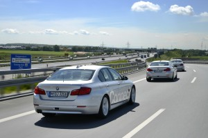 BMW-Forschungsautos