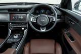 Jaguar XF, Cockpit, Ledersitz