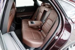 Jaguar XF, Fond, Lederausstattung