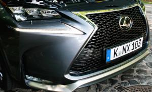 Lexus NX 200t AWD F-Sport, Kühlergrill