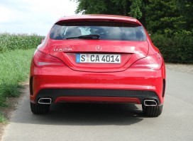 Mercedes-Benz CLA 250 4Matic Shooting Brake, Rückansicht