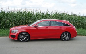 Mercedes-Benz CLA 250 4Matic Shooting Brake, Seitenpartie