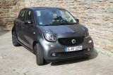 Smart Forfour Prime twinamatic, Frontansicht