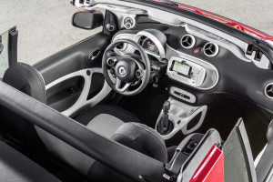 Smart Fortwo Cabrio (2016), Innenraum