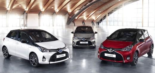 Toyota Yaris Style zweifarbig