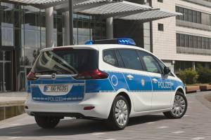 Zafira als Polizeifahrzeug