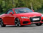 Audi TT Roadster, Fahraufnahme, Frontansicht