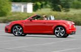 Audi TT Roadster, Fahraufnahme, Seitenansicht