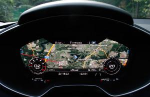 Audi TT Roadster, Tacho