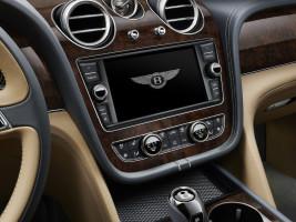 Bentley Bentayga, Display