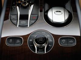 Bentley Bentayga, Tasten in der Mittelkonsole