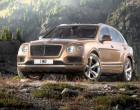 Bentley Bentayga, Vorderansicht