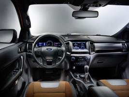 Ford Ranger 2016, Armaturenbrett