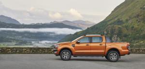 Ford Ranger 2016, Standaufnahme, Seitenansicht