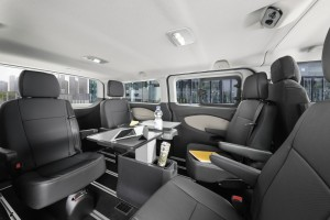 Ford Tourneo Customs Business Edition, Innen