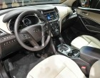 Hyundai Santa Fe Facelift, Innenraum