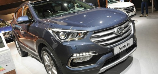 Hyundai Santa Fe Facelift-Modell 2016