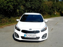 Kia Ceed Facelift 2015, Front