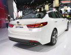 Kia Optima Facelift 2016, Heck