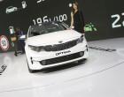 Kia Optima Facelift 2016 auf der IAA Frankfurt