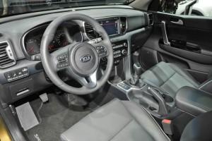 Kompakt-SUV Kia Sportage 4te Generation, Innenraum